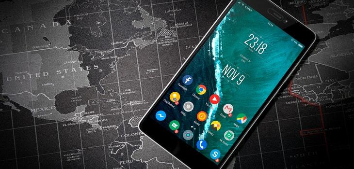 Mayores regiones con uso de las redes sociales