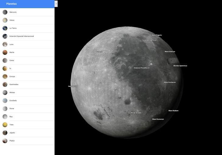 Planetas-GoogleMaps