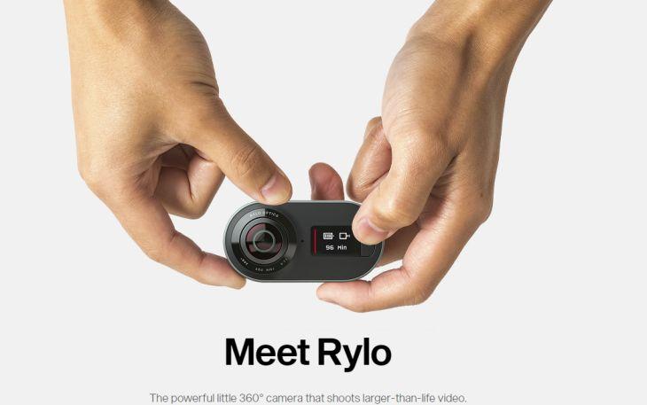 Rylo lanza su sencilla cámara de 360 grados