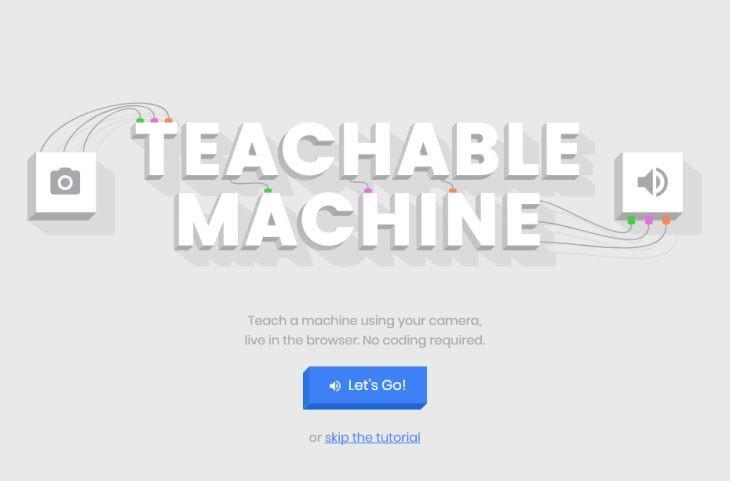 TeachableMachine