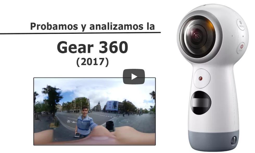 Test, análisis y opinión de la nueva Samsung Gear 360