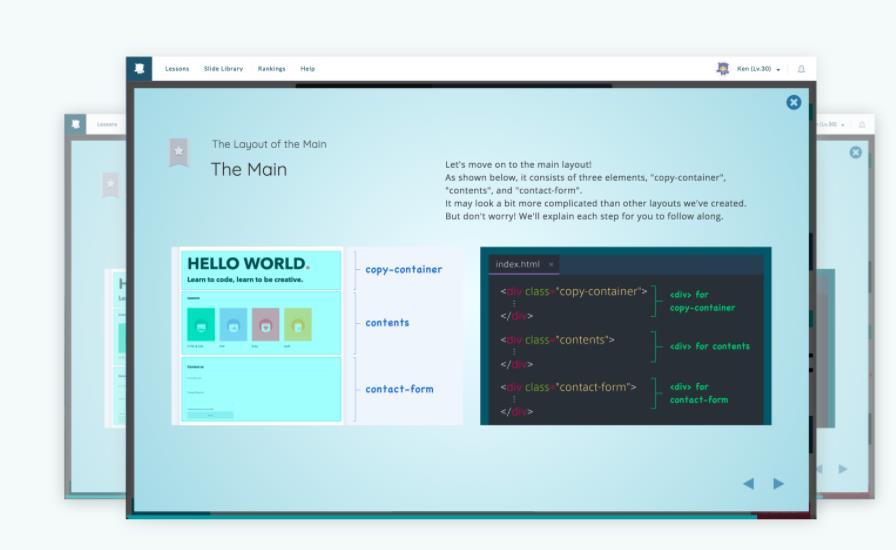 Progate, un excelente proyecto para aprender a programar