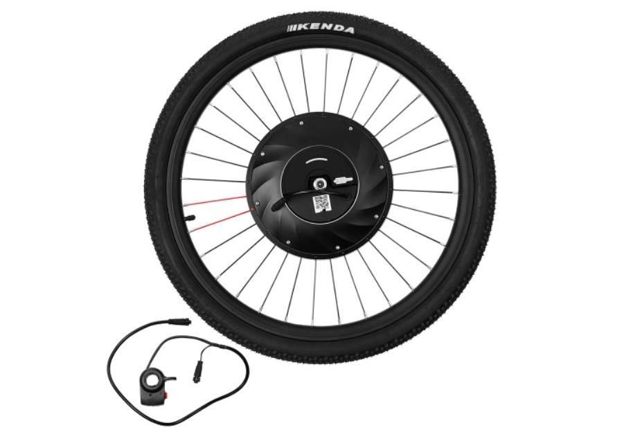 Una rueda que transforma tu bicicleta tradicional en una eléctrica