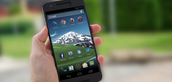 App ocultar herramientas en Android