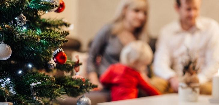 Familia en Navidad marketing estrategias marcas