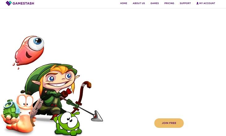 Gamestash servicio de juegos