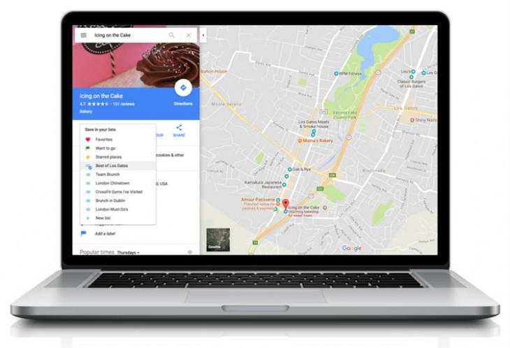 Google Maps ya permite crear y compartir listas de lugares desde la versión de escritorio