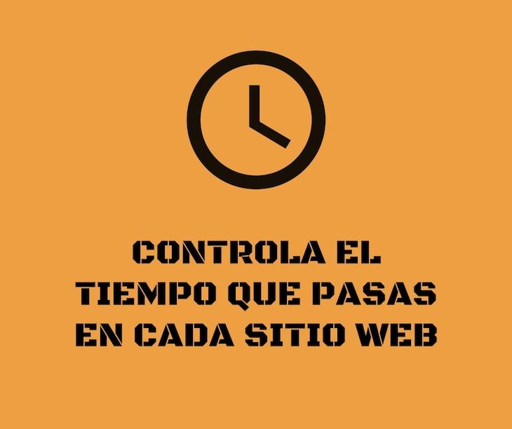 Dos herramientas para controlar el tiempo que pasamos en cada sitio web