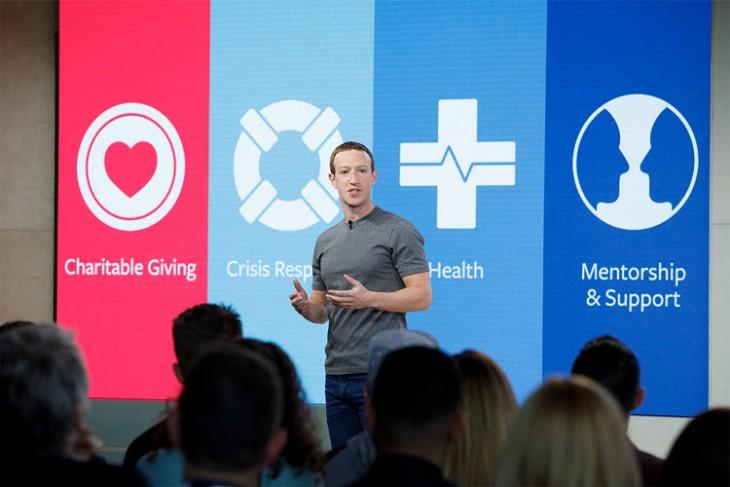 Mark Zuckerberg, Social Good Forum