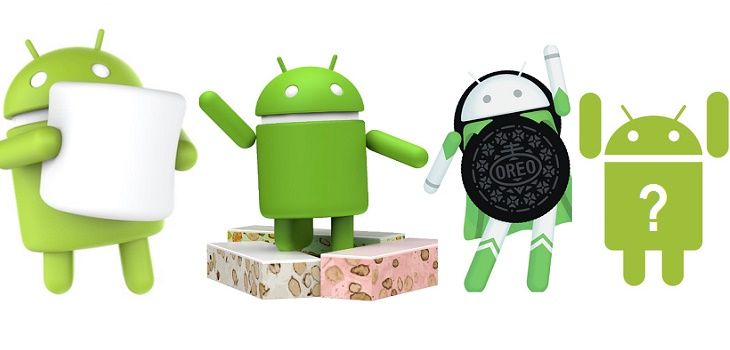 Posibles nombres de Android 9.0