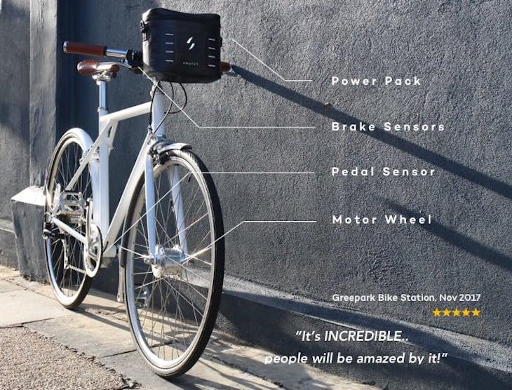 Swytch, un kit para convertir nuestra bici en un modelo eléctrico
