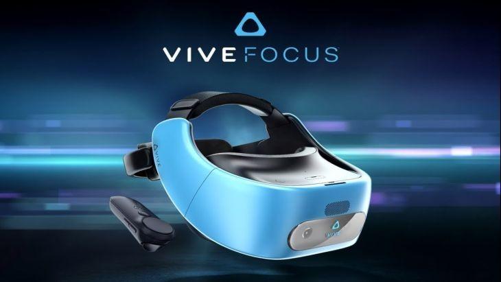 HTC presentó un casco autónomo de realidad virtual