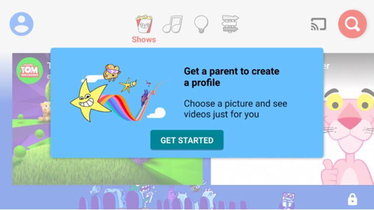 YouTube Kids permitirá crear perfiles individuales para los niños