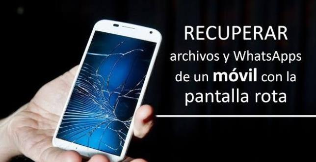 Sí, se puede usar un móvil cuando la pantalla ha dejado de funcionar