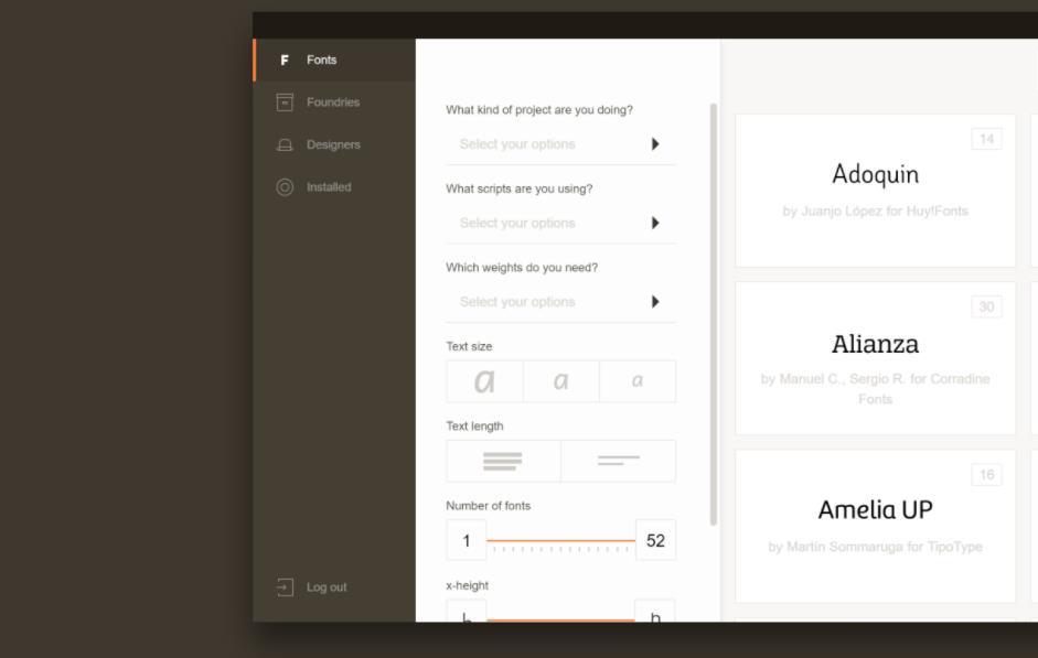 Fontown, catálogo de tipografías para estudiantes y profesionales del diseño gráfico