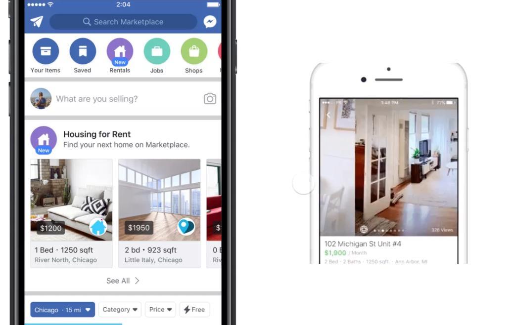 Facebook entra en el mundo del alquiler podremos for Webs buscar piso