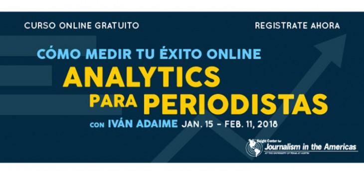 Curso Analytics para Periodistas