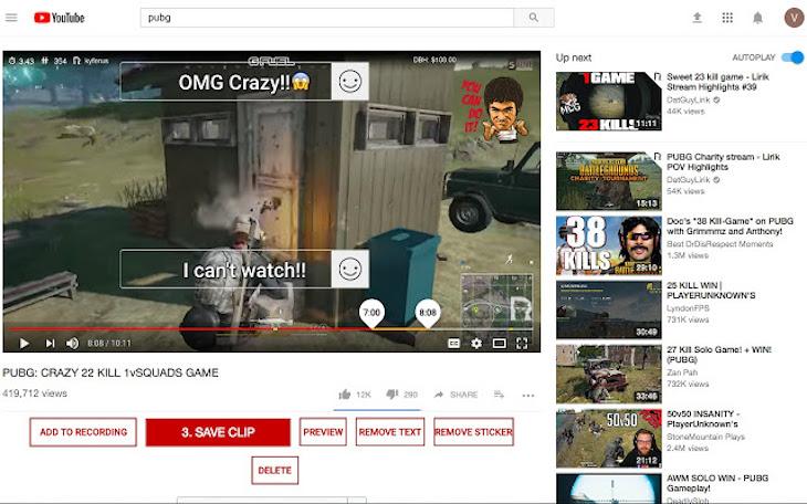 Hashcut, extensión para recortar fragmentos de vídeo de YouTube desde el navegador