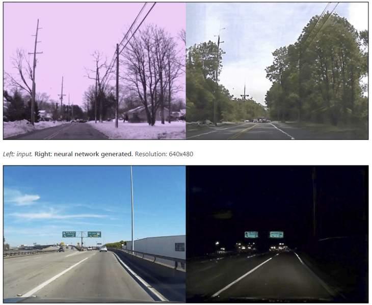 Imagen: Comparativa fotos reales y generadas por IA/ NVIDIA