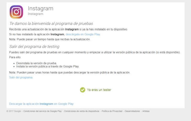Instagram-Alfa-Android