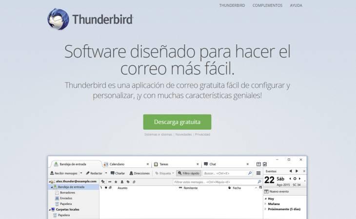 ThunderbirdWeb
