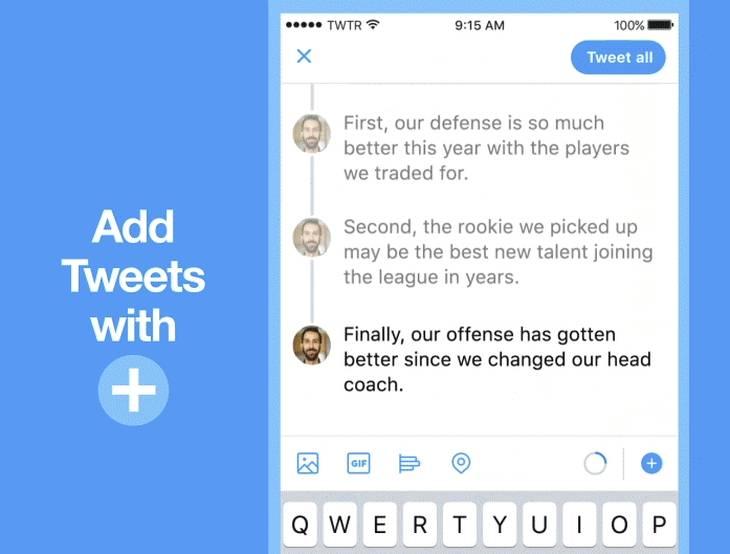 Twitter lanza función que permite crear