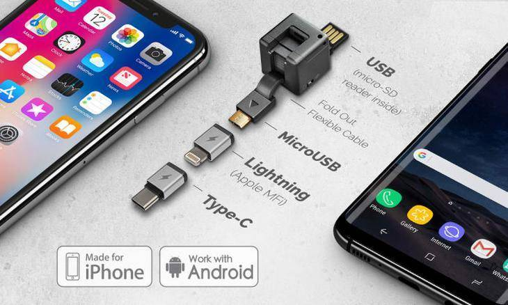 WonderCube Pro, a multifunctional accessory for mobile phones