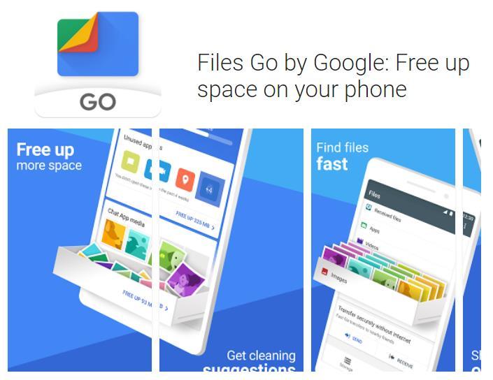 Google presenta aplicación para ahorra espacio en el celular