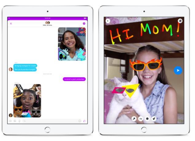 Facebook lanza messenger app para niños