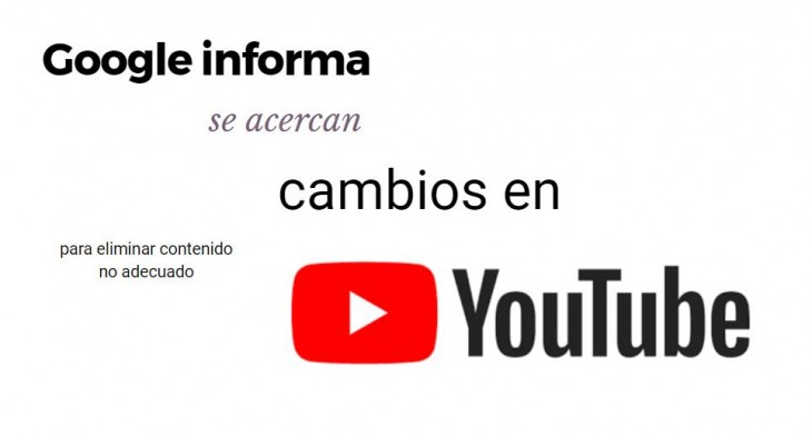 Se arma YouTube contra videos inarpopiados