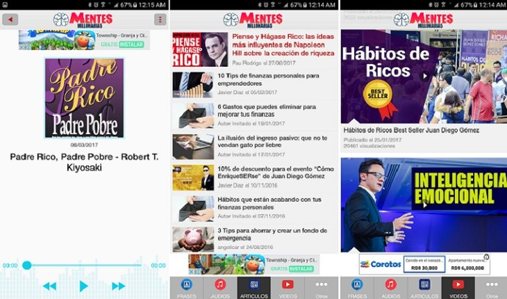 Mentes Millonarias app b