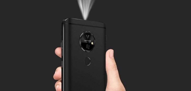 Moviphone proyector integrado