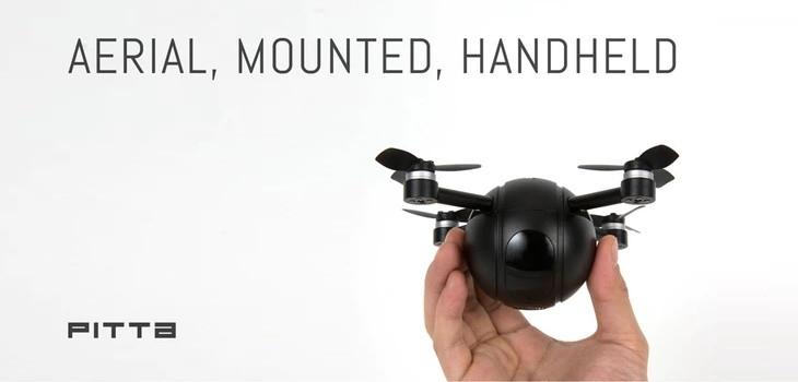 PITTA cámara dron proyecto Kickstarter