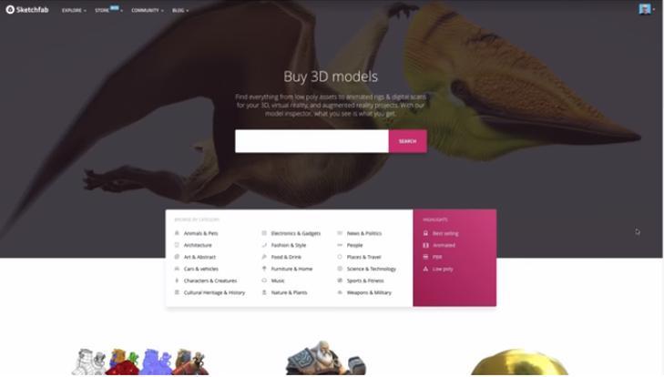 SketchfabStore