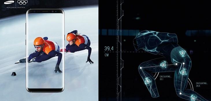 Traje especial patinadores Samsung