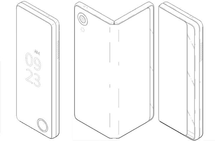 Imagen: Variantes 1 y 2 de la nueva patente de LG