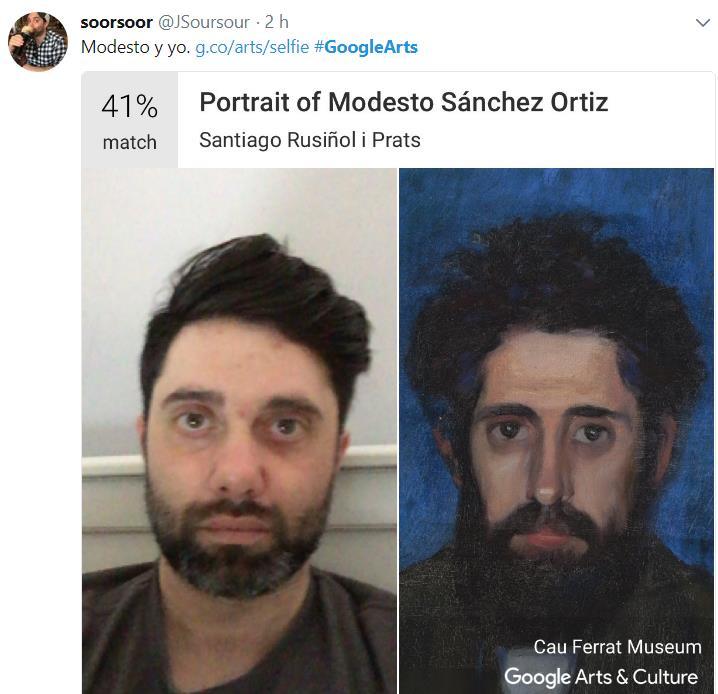 Esta app te dice a qué obra de arte te pareces