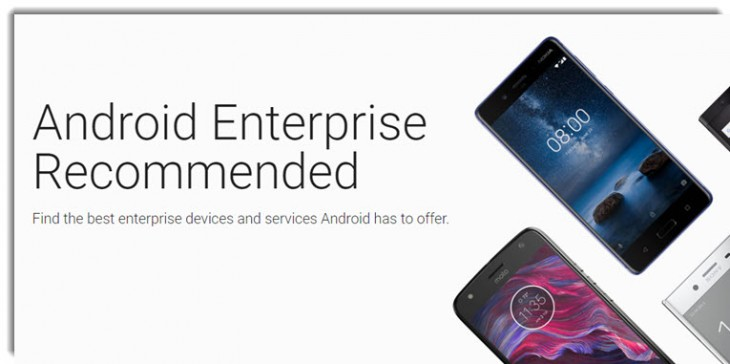 Android Enterprise Recommended,