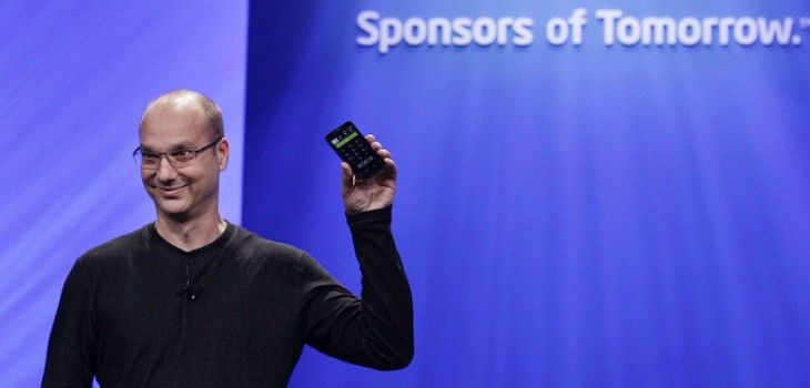 Andy Rubin imagen de Mashable