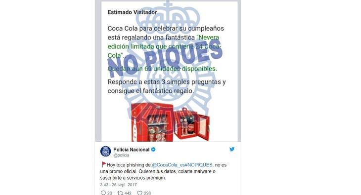 Bulo Coca Cola falso