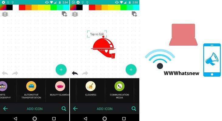 Creador de logotipos app para Android
