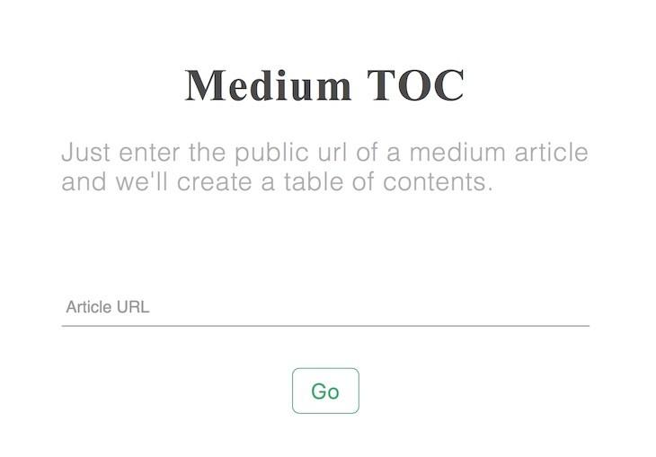 Medium TOC