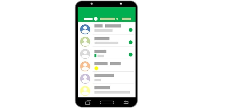 Ocultar estado WhatsApp pasos