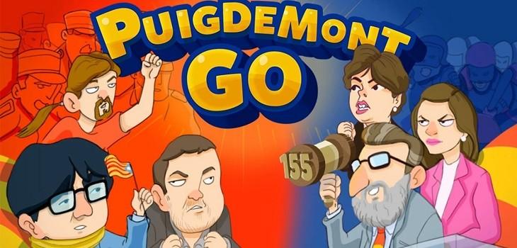 Puigdemont Go juego viral