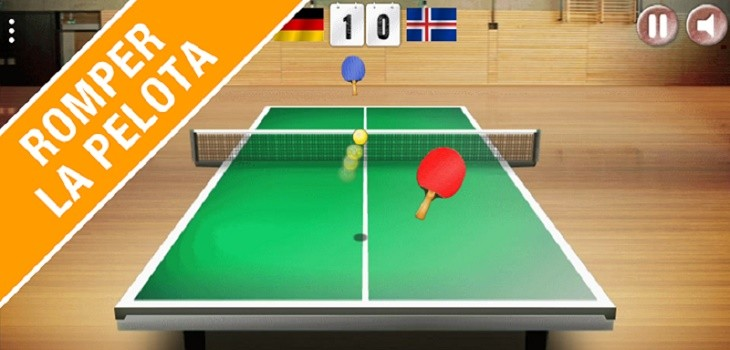 3 juegos de ping pong para android for Madison tenis de mesa