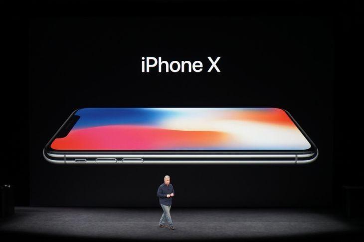 iPhone X - crédito de imagen: CNet