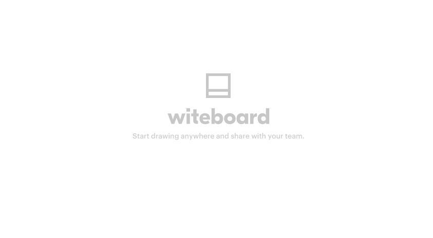 Witeboard, para dibujar en grupo por Internet