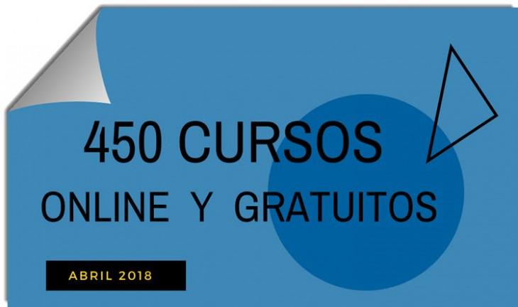 CURSOS ONLINE GRATUITOS - ABRIL 2018