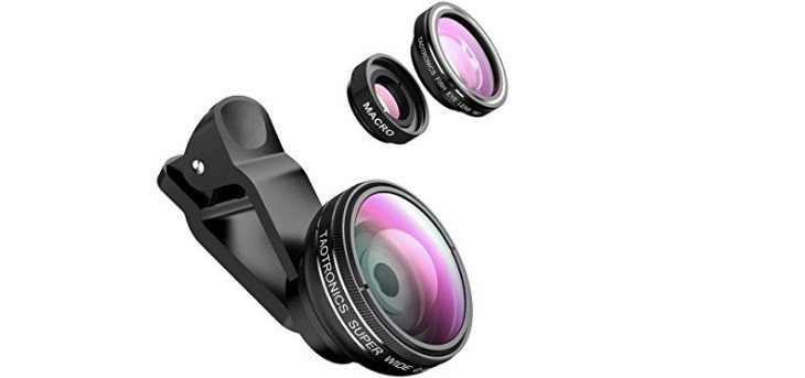 Kit de lentes para móviles