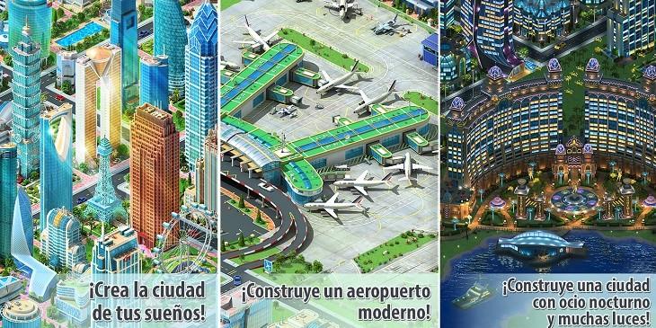 Megapolis juego de construccion para Android
